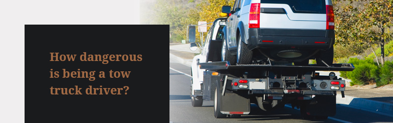 how dangerous is being a tow truck driver? contact a Nashville truck accident lawyer