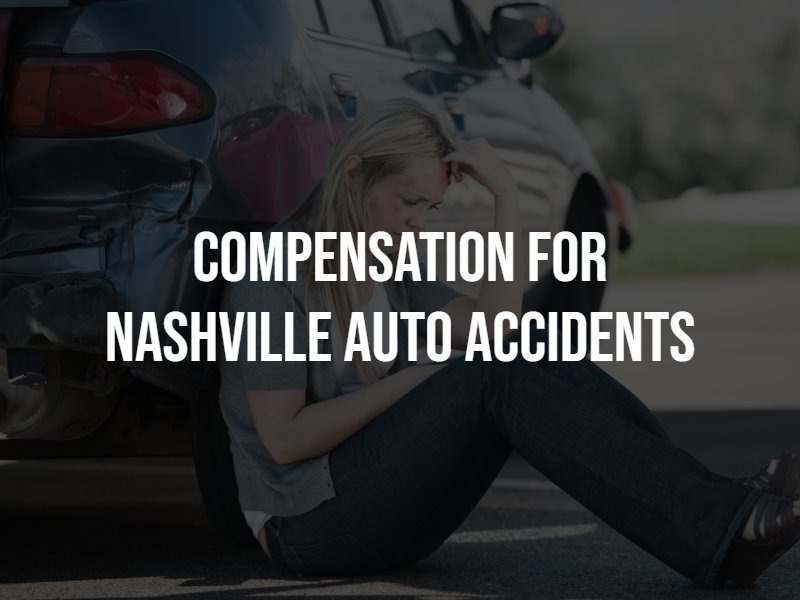 Compensation for Nashville Auto Accidents